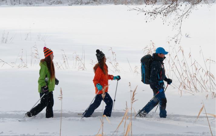毎日開催スノーシューツアー